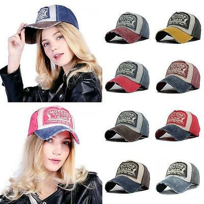 Distressed Racing Team Design Baseball Cap, Vintage, Aged, Retro Various Colours