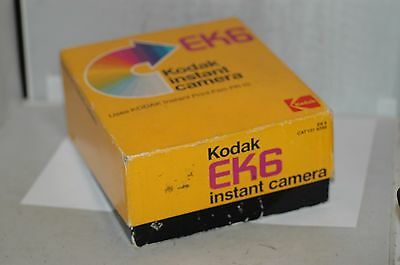 Kodak Ek6 Instant Film Camera And Box.