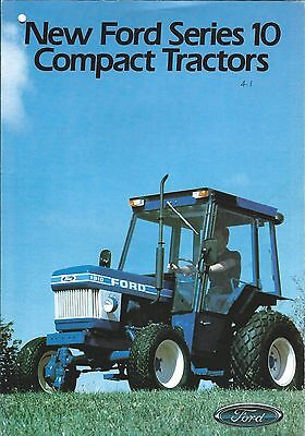 Farm Tractor Brochure - Ford - 1210 1910 - Series 10 Compact - c1983 (F5387)