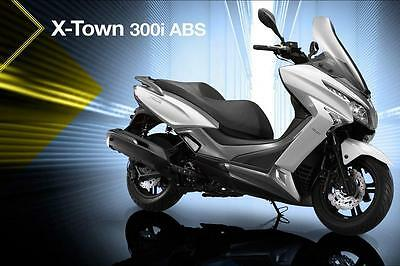 Kymco X-town  300i ABS Scooter 2017 new bike,24 mths warranty,new model Kymco...