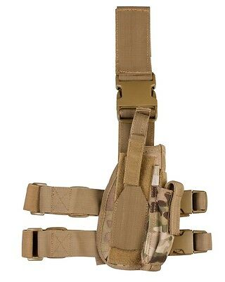British Army Style Tactical Leg Drop Holster Mtp Multicam