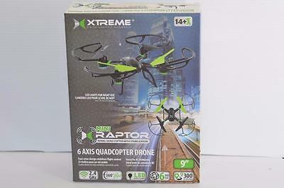XTREME CABLES XDG6-1006-BLK Mini xRaptor 6 Axis Drone