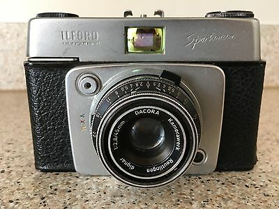 Ilford Sportsman 35mm Camera And Case