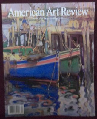 American Art Review Magazine April 1998  Malibu  Modern American Realism  Harlem
