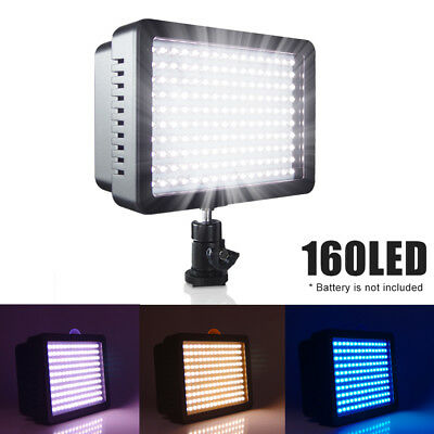 Besseller 160 LED Studio Video Light for Canon Nikon DSLR Camera DV Camcorder