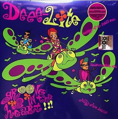 DEEE-LITE - GROOVE IS IN THE HEART PINK VINYL Record Store Day RSD 2017 SEALED