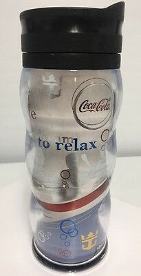 Royal Caribbean Cruise Ship Coca Cola Coke Travel Cup Insulated