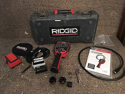 Ridgid Micro Explorer Digital Inspection Camera w/ Case, Charger, Accessories