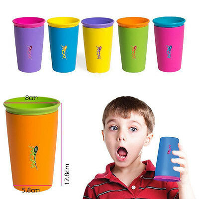 Modern Useful Children Gift Safe Spill Free 360 Degree Drink Cup New