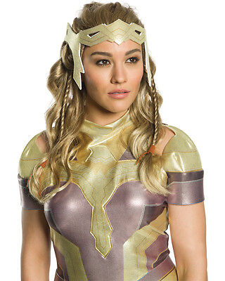 Wonder Woman Amazon Queen Hippolyta Adult's Wig Costume Accessory