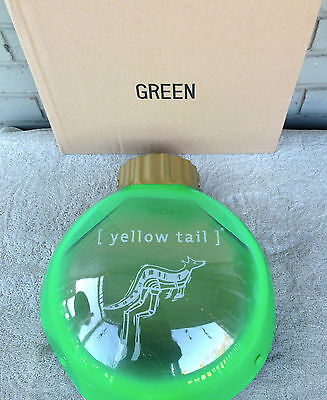 "Yellow Tail Wine Australia Christmas Light Box Bar Mancave 13"" GRN Blinks VIDEO"