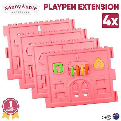 Baby Playpen Extension for Interactive Baby Play Room (Pink)
