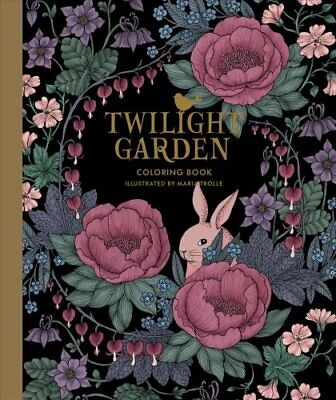 Twilight Garden Coloring Book by Maria Trolle (Paperback, 2017)