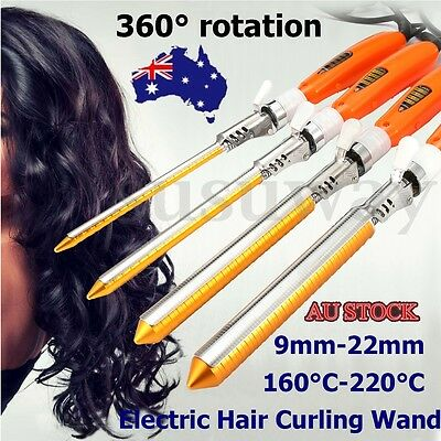 Professional 9-22mm Electric Hair Curling Ceramics Wand Curler Hair Styling Tool