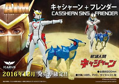 Icarus Toys X Miracle Aim Kyashan & Flender Casshern & Friender Nuovo New