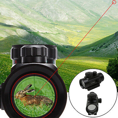 Tactical Red Green Dot Laser Sight Scope Telescope 11/20mm Mounts For Air Rifle