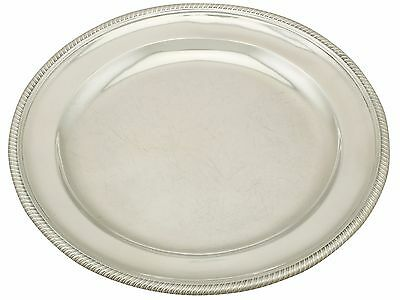 Antique Sterling Silver Plate by Paul Storr, George III (1799)
