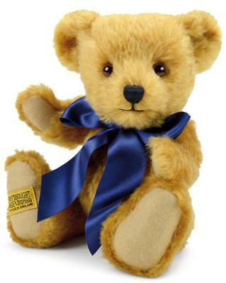 "Merrythought Oxford teddy bear classic jointed mohair - 25cm / 10"" - OX10YG"