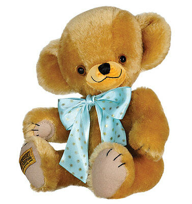 "Merrythought Traditional Cheeky teddy bear classic mohair - 25cm / 10"" - GT10TC"