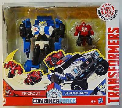HASBRO® C0655 TRANSFORMERS RID Combiner Force Trickout & Strongarm
