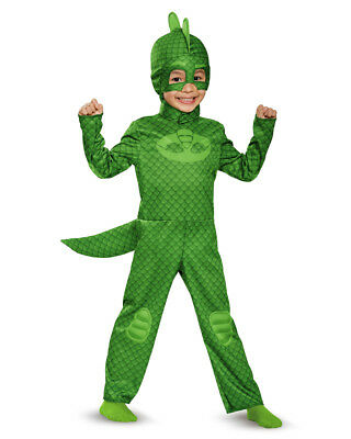 Child's Boys Classic Gekko PJ Masks Superhero Costume
