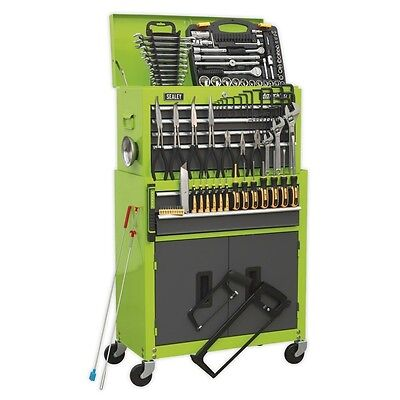 Sealey AP2200COMBOHV Topchest & Rollcab Combination 6 Drawer 128pc Tool Kit