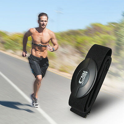 SUNDING Wireless Bluetooth Heart Rate Monitor w/ Chest Belt Elastic Strap CS494