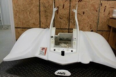 2004 Yamaha Raptor 660 White Plastic Rear Fenders