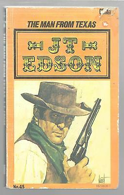 THE MAN FROM TEXAS by J. T. Edson 1972 PB Corgi Books Paperback Western