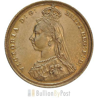 Gold Full Sovereign - Victoria, Jubilee Head