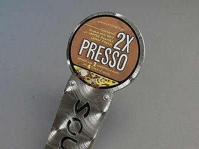 SOUTHERN TIER 2X PRESSO BEER TAP HANDLE PULL brewery mancave micro craft brew