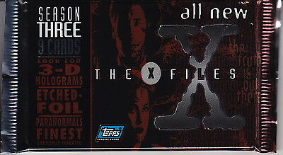 X-FILES - Season 3 Factory Sealed Card Packs (36) by Topps #NEW