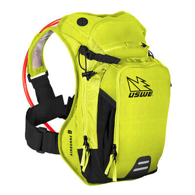 Uswe - Airborne-9L (Crazy Yellow) - 3Ltr Hydration & 6Ltr Cargo With New Elite B