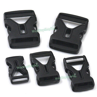 19mm 25 38mm Buckles Side Release for Webbing Nylon Belt Strap Paracord Bags DIY