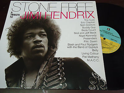 SEVERAL - Stone Free (To Tribute To Jimi Hendrix), LP 1993, THE CURE, PRETENDERS