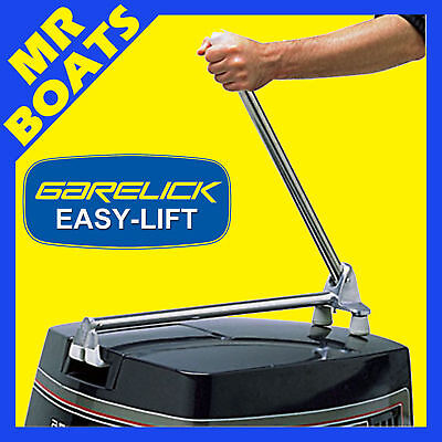 MANUAL OUTBOARD MOTOR TILT SYSTEM Suits up to 40hp GARELICK 71036 Boat Trim NEW