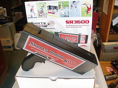 Radar Gun, SR-3600 Speed Gun, sport  radar,Tennis, Football Cricket  Sites, Car