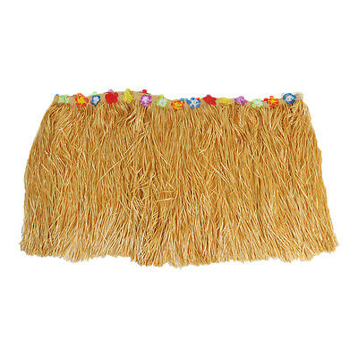 Artificial Grass Table Skirt Decoration Luxury Tropical Hawaiian Style 9FT