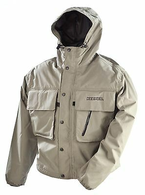 Vision Keeper Fly Fishing Wading Jacket Waterproof and Breathable Sizes M-XXXL