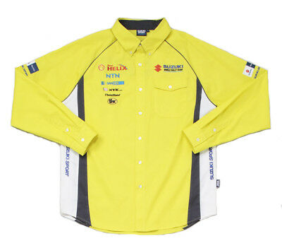 RACE SHIRT Challenge Suzuki Sport World Rally Team Motorsport NEW! Longsleeve