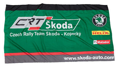 Flag Czech Rally Team Motorsport Skoda Kopecky Auto Rallycross