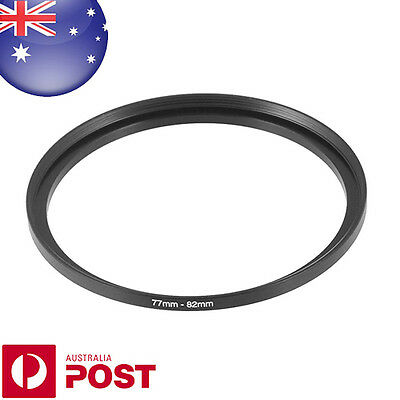 New 77-82mm 77mm-82mm Metal Step Up Lens Filter Ring Adapter - Z387