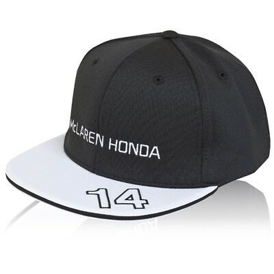 CAP Hat Formula One 1 McLaren Honda F1 NEW 2015 Alonso Flat Peak Team Cap MP4-30
