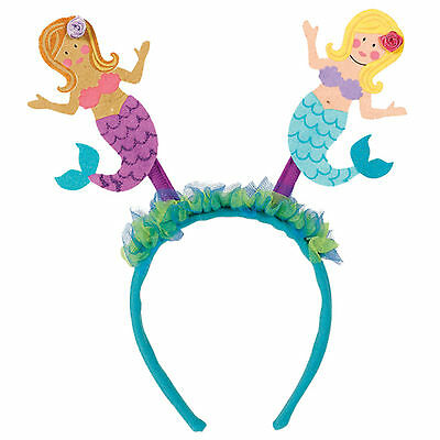 Tropical Island Luau Hawaiian Tiki Party Mermaid Women Head bopper Headband