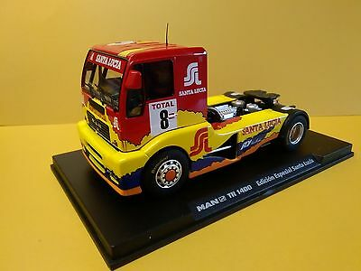 Fly 08022 Man Tr1400 Truck Special Edition Santa Lucia 1/32 Slot Car Scalextric