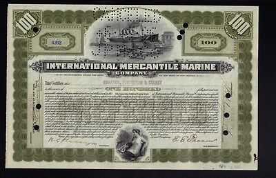 International Mercantile Marine 1917 (Titanic Own) iss Drayton Penington Colket