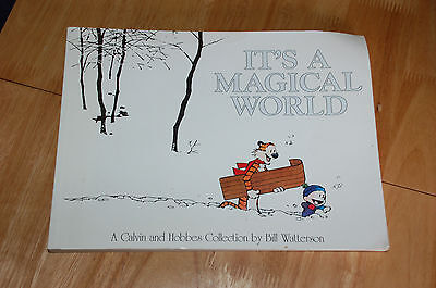 IT'S A MAGICAL WORLD - CALVIN & HOBBES COMIC COLLECTION - Bill Watterson 1997