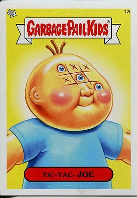 Garbage Pails Kids 2014 Series 1 Base Card 1a TIC-TAC- JOE