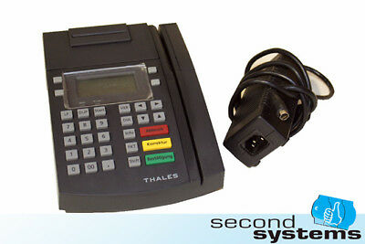 Thales MCT 5500 multifunktionales Bezahlterminal TCP/IP