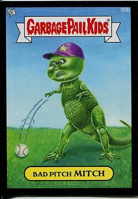 Garbage Pails Kids 2014 Series 1 Black Parallel Base Card 30b BAD PITCH MITCH